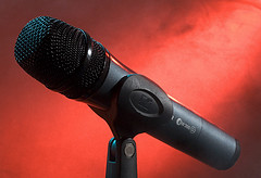 Radio microphone – used under CC licence. Click to see source.