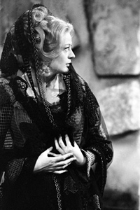 Maggie Smith in the 1967 BBC production of 'Much Ado About Nothing' (BFI stills)