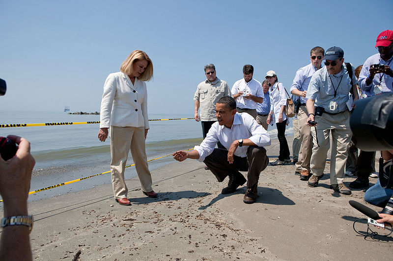 President Obama visits the Gulf (Official White House Photo by Chuck Kennedy)