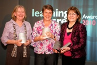 Winners at the Learning on Screen Awards 2010