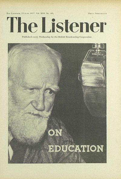 The Listener, 23 June 1937