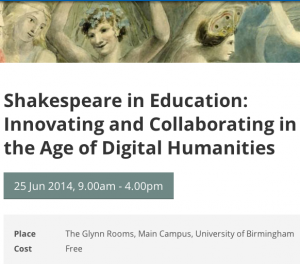 Shakespeare in Education Symposium