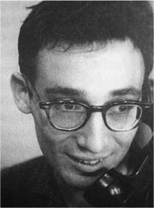 Timothy Asch,photographed in 1961 (image: Peter Loizos)