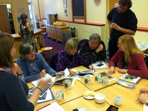 Identifying Research Story Interests in a Technology Lab Workshop, Bute