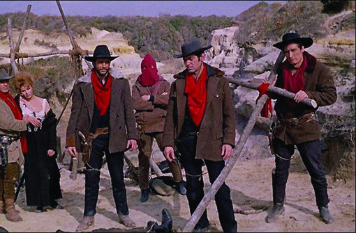 The murderous bandits from Sergio Corbucci's DJANGO (1966), available on Blu-ray and DVD from Argent Films.