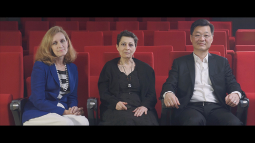 Core teaching staff for the MOOC: Stacilee Ford, Gina Marchetti and Aaron Han Joon Magnan-Park.