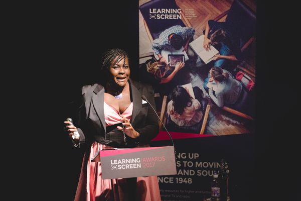The 2017 BUFVC Awards evening at the BFI