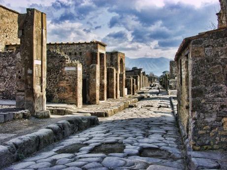Pompeii, Italy.